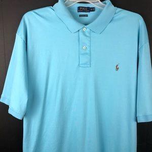 Polo Ralph Lauren Pima Soft Touch Shirt Blue 3XT